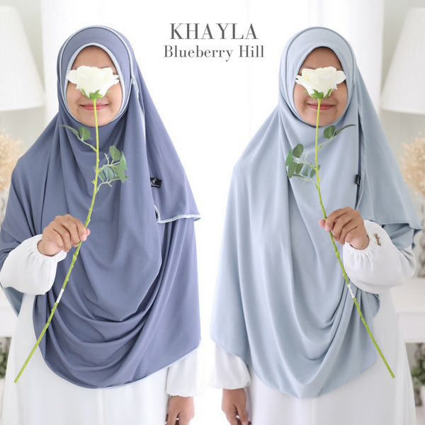 INSTANT SHAWL KHAYLA DWI COLOUR: Blueberry Hill
