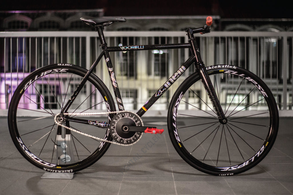 Xun's New Cinelli Vigorelli Black Night