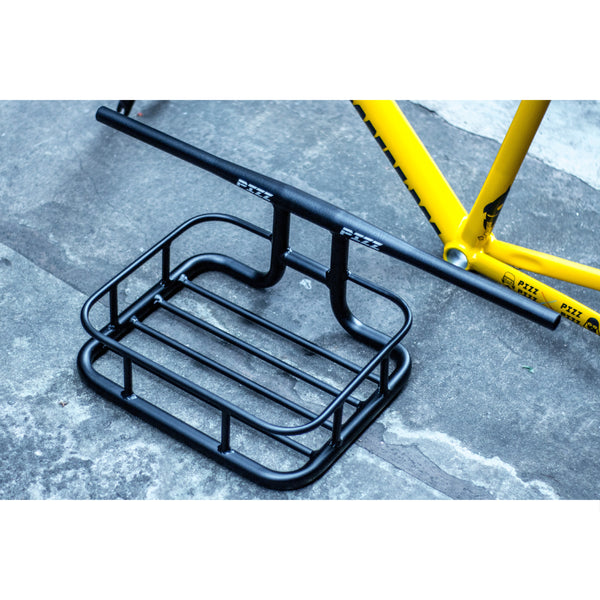 PIZZ MESSENGER BASKET WITH INTEGRATED HANDLEBAR - FISHTAIL CYCLERY