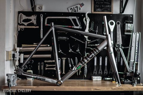 Cinelli Mash Bolt 2.0 Frameset - FISHTAIL CYCLERY