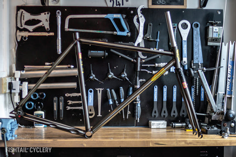 Cinelli Mash Work Frameset - FISHTAIL CYCLERY