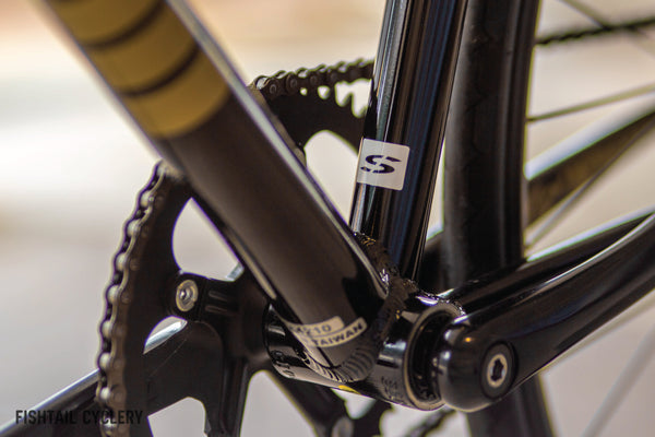 Cinelli Tipo Pista Full Bike (Black Gold) - FISHTAIL CYCLERY