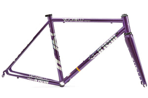 CINELLI Vigorelli Purple Road Frameset - FISHTAIL CYCLERY