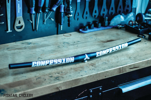 Confession Lightweight Riser Bar - FISHTAIL CYCLERY