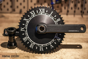 CONFESSION TIME CRANKSET - FISHTAIL CYCLERY