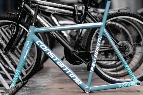 Constantine Palladium Frameset Mint Grey - FISHTAIL CYCLERY
