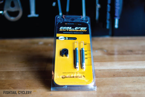 Valve Extender - FISHTAIL CYCLERY