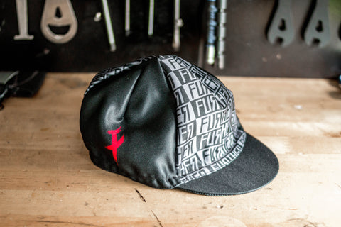 Father Tu Further Logo Cycling Cap - FISHTAIL CYCLERY