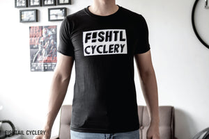 New Logo T-Shirt - FISHTAIL CYCLERY
