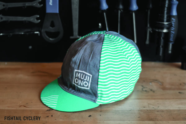 "Mujiono ""Float Liner Green"" - FISHTAIL CYCLERY"