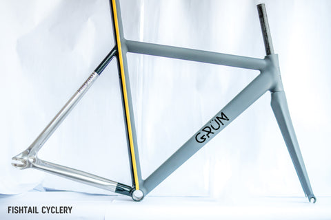 GRÜN INTEGRAL01 FRAMESET - FISHTAIL CYCLERY