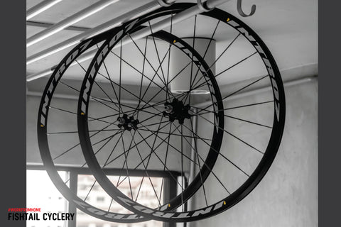 INTRO7 Criterium Wheelset - FISHTAIL CYCLERY