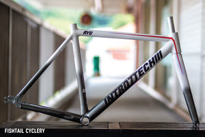 INTRO7 Childhood Fighting Heroes Series Frameset - FISHTAIL CYCLERY