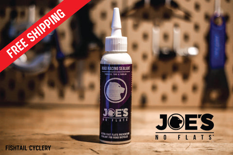 JOE's NO FLATS ROAD RACING SEALANT - FISHTAIL CYCLERY