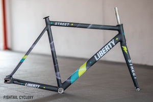 "LIBERTY ""STREET V3"" FRAMESET - FISHTAIL CYCLERY"