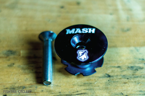 MASH SF LOGO Top Cap - FISHTAIL CYCLERY