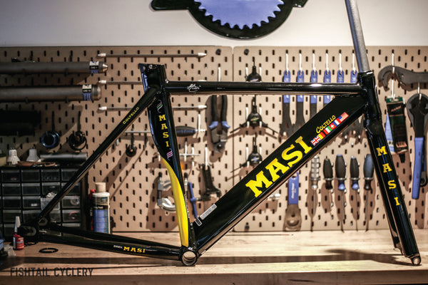 MASI Coltello Frameset - FISHTAIL CYCLERY