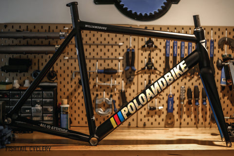 POLOANDBIKE Williamsburg New Gen Frameset - FISHTAIL CYCLERY