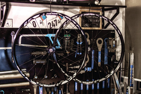 Piston Racing Track Wheelset Type 1 - FISHTAIL CYCLERY