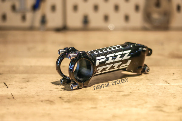 PIZZ Decorated Aluminium Light Weight Stem - FISHTAIL CYCLERY