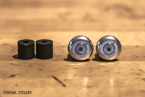 NITTO EC-02 Bar End Plugs - FISHTAIL CYCLERY