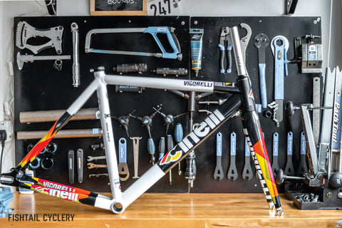 Cinelli Vigorelli HSL Frameset - FISHTAIL CYCLERY
