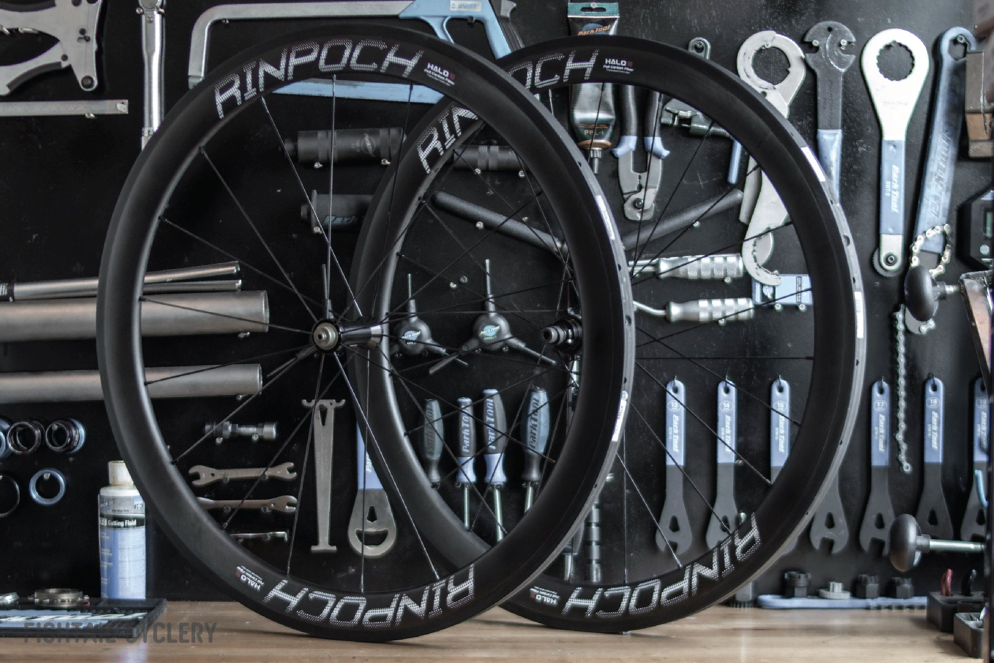 Rinpoch Halo Carbon Wheelset - FISHTAIL CYCLERY