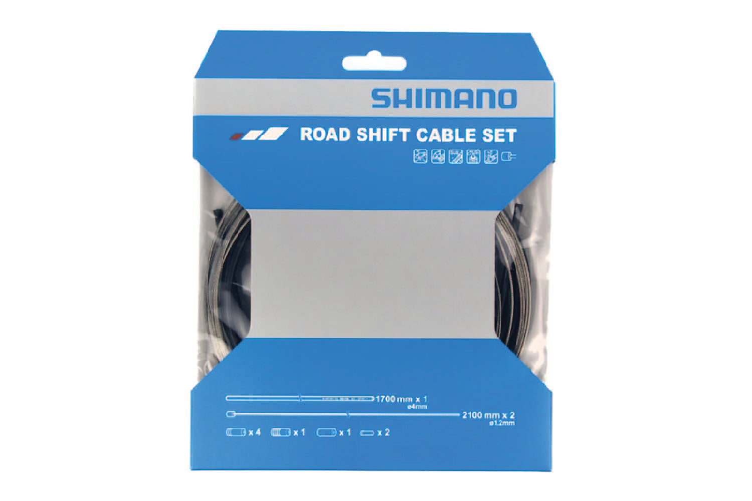 SHIMANO Road Shifting Cable Set (Stainless Steel)