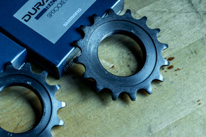 Shimano Dura Ace SS-7600 Track Sprocket (NJS Certified) - FISHTAIL CYCLERY