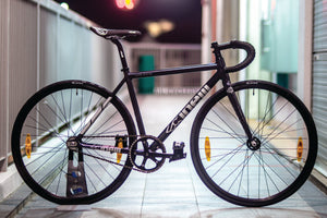 CINELLI Tipo Pista Full Bike (Black Silver)