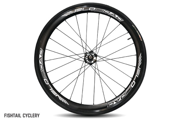 VELOCIDAD 2018 Wheelset with Tyres and Sprocket + Lockring - FISHTAIL CYCLERY