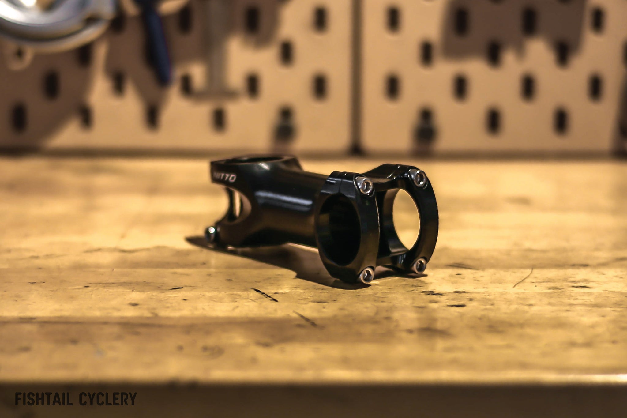 NITTO UI-25 Handlebar Stem - FISHTAIL CYCLERY