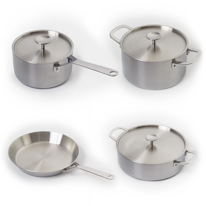 S Series - 4  Pan Set (S1, S2, S4, S5)