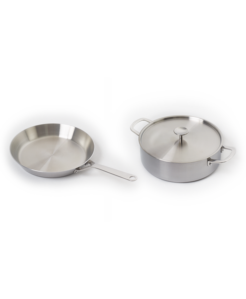S-SERIES 2 Stainless Steel Pan Set (S4, S5)