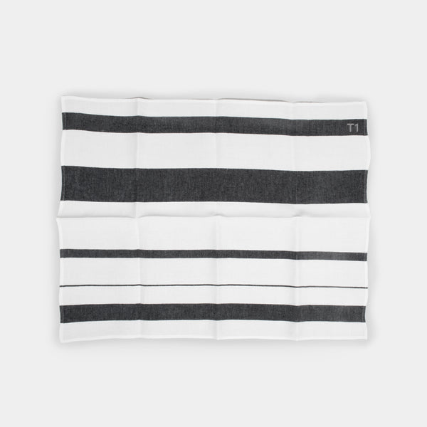 T1 - Linen tea towel - 3 stripe