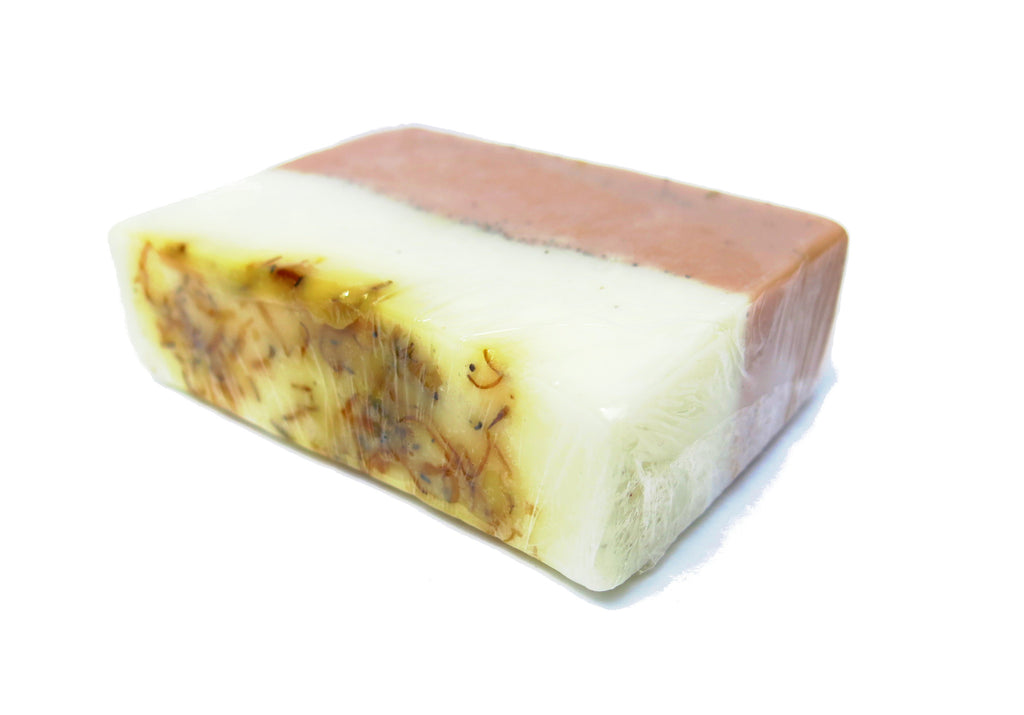 Grapefruit Scrub soap bar 150g