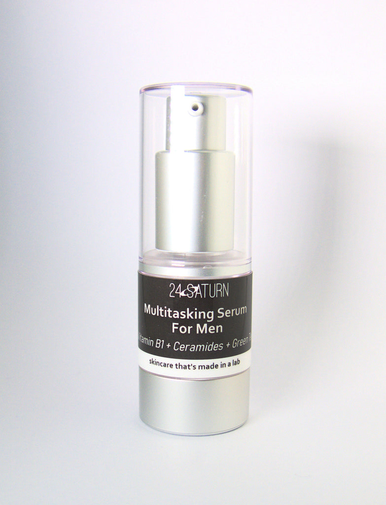 MULTITASKING SERUM FOR MEN Vitamin B1 + Ceramides + Green Tea 15ml