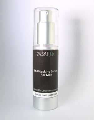MULTITASKING SERUM FOR MEN Vitamin B1 + Ceramides + Green Tea 30ml