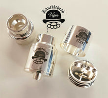 Load image into Gallery viewer, Knucklehead Vapes Logo Goon Style Rda's