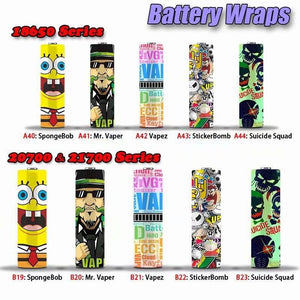 VST 20700 Battery Wraps.