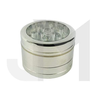 4 Parts Metal 50mm Clear Window Grinder