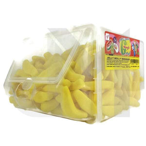 Jelly Molly Banana Candy Tub - Halal