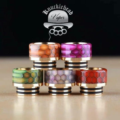 Knucklehead Vapes Snakeskin Drip Tips