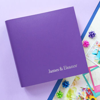 Our little nod to Pantone's colour of the year 2018 'Ultra Violet'.