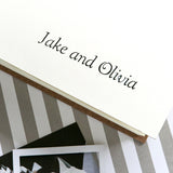 Wedding photo guest book personalisation