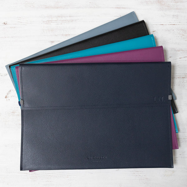 A4 Leather Document Wallet
