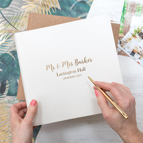 botanical wedding album by begolden