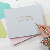 Soft Pastel Wedding Guest Book