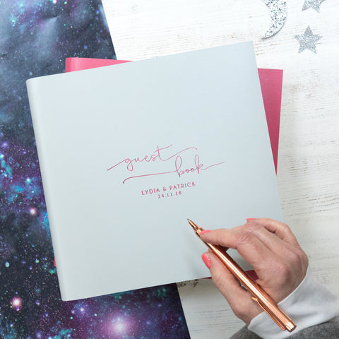 Celestial Wedding Guest Book