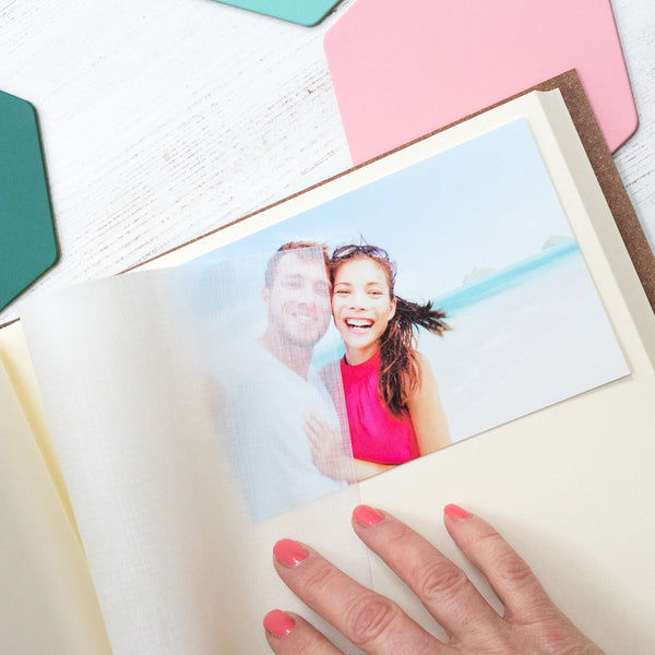 Botanical Wedding Album or Guest Book